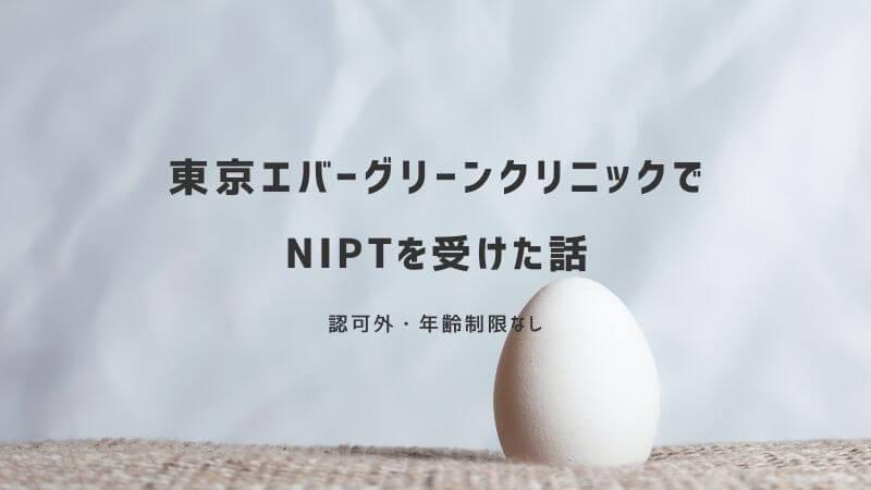 東京エバーグリーンクリニックで新型出生前診断(NIPT)を受けた体験談ブログ