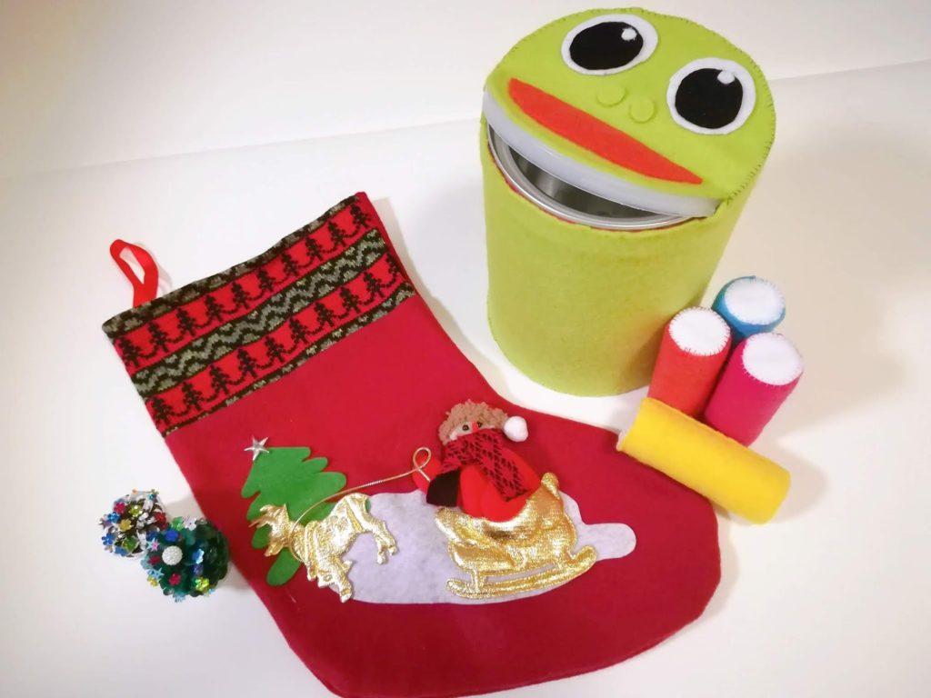 はじめてのクリスマスプレゼントとなったフロッギー風ぽっとん落とし