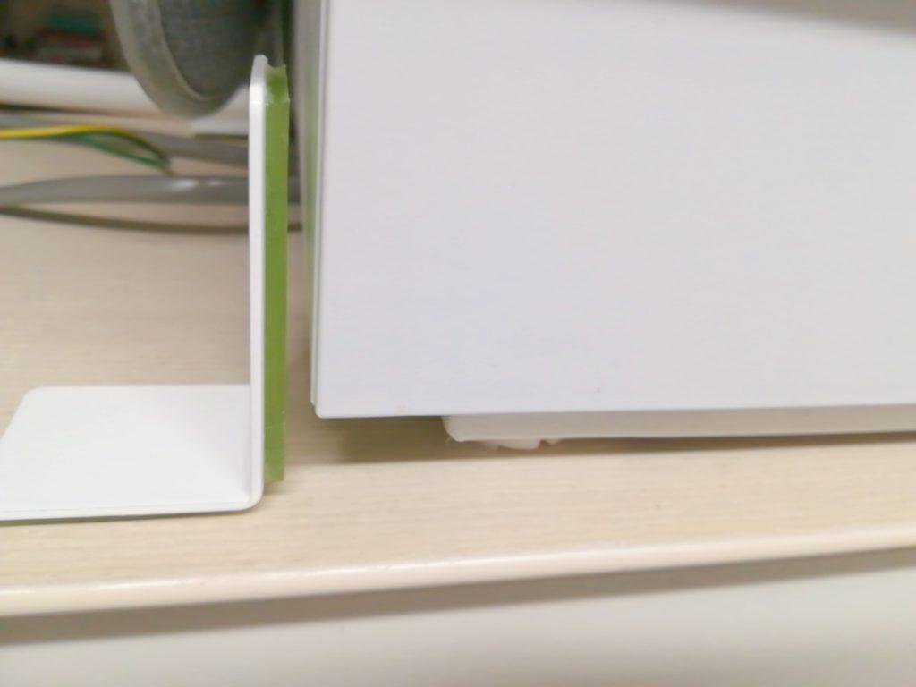 食洗機から脱落しているガムロックPC