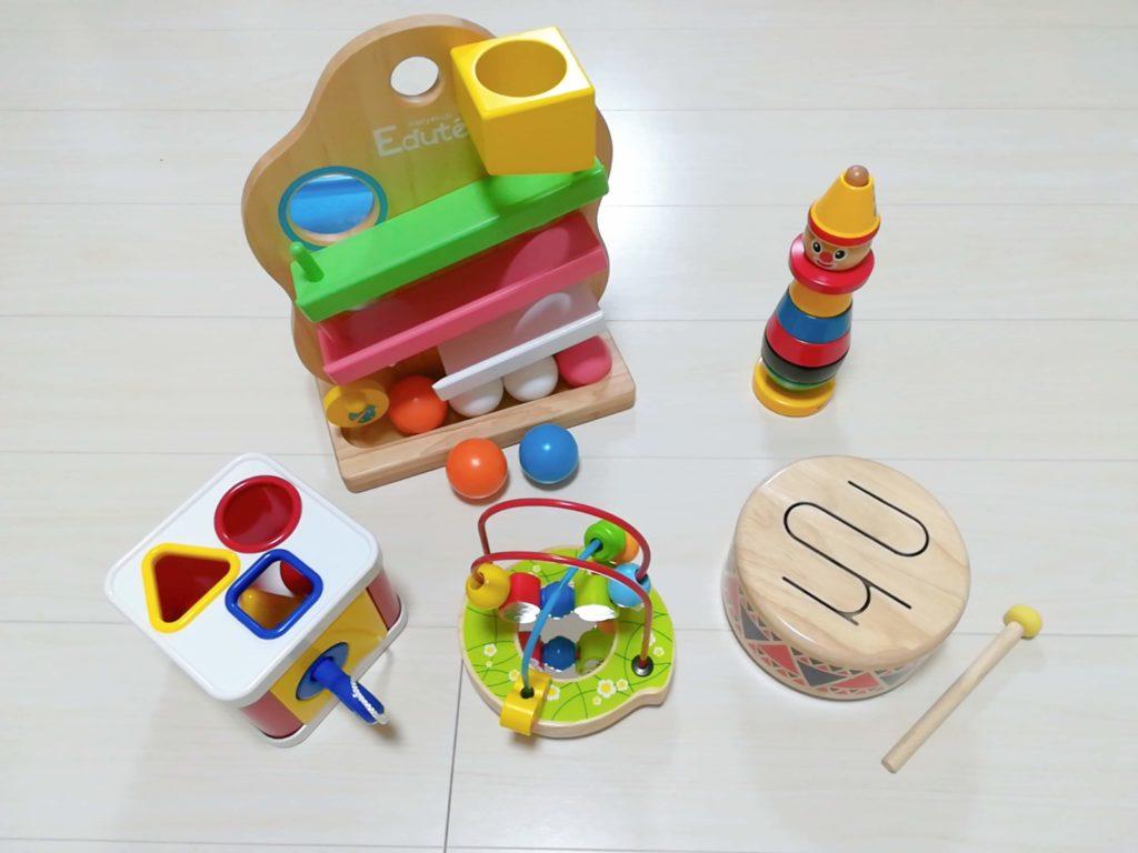 サブスクリプション型おもちゃレンタルサービス「TOYBOX(トイボックス)」でレンタルした知育玩具
