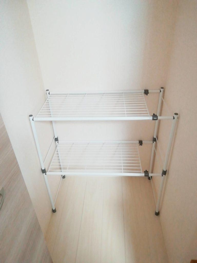 クローゼット内の整理におすすめ、平安伸銅工業の押入れ収納棚