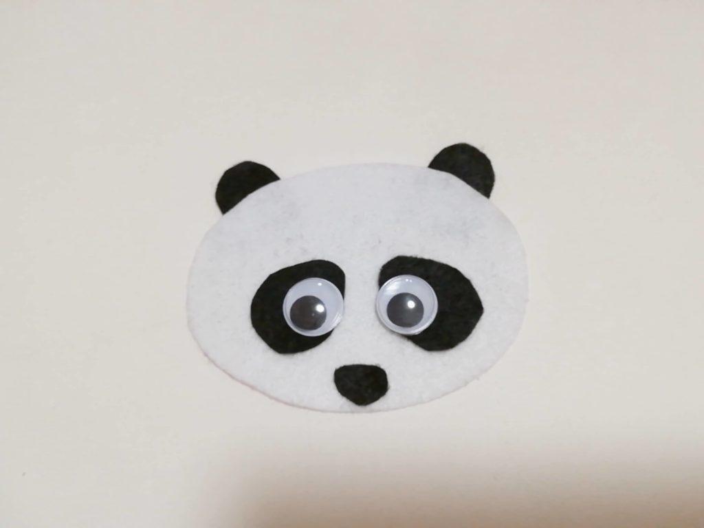 センサリーボードの「パンダ」パーツ