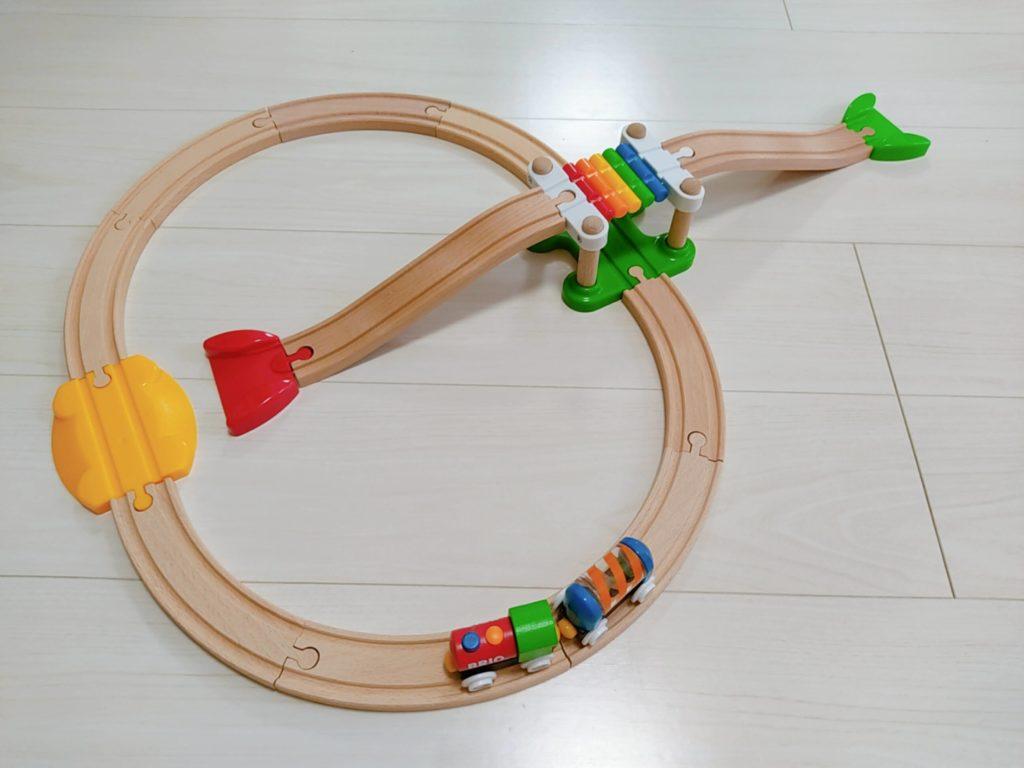1歳7ヶ月娘にTOYBOXからレンタルしたおもちゃ・知育玩具:「マイファーストビギナーセット」