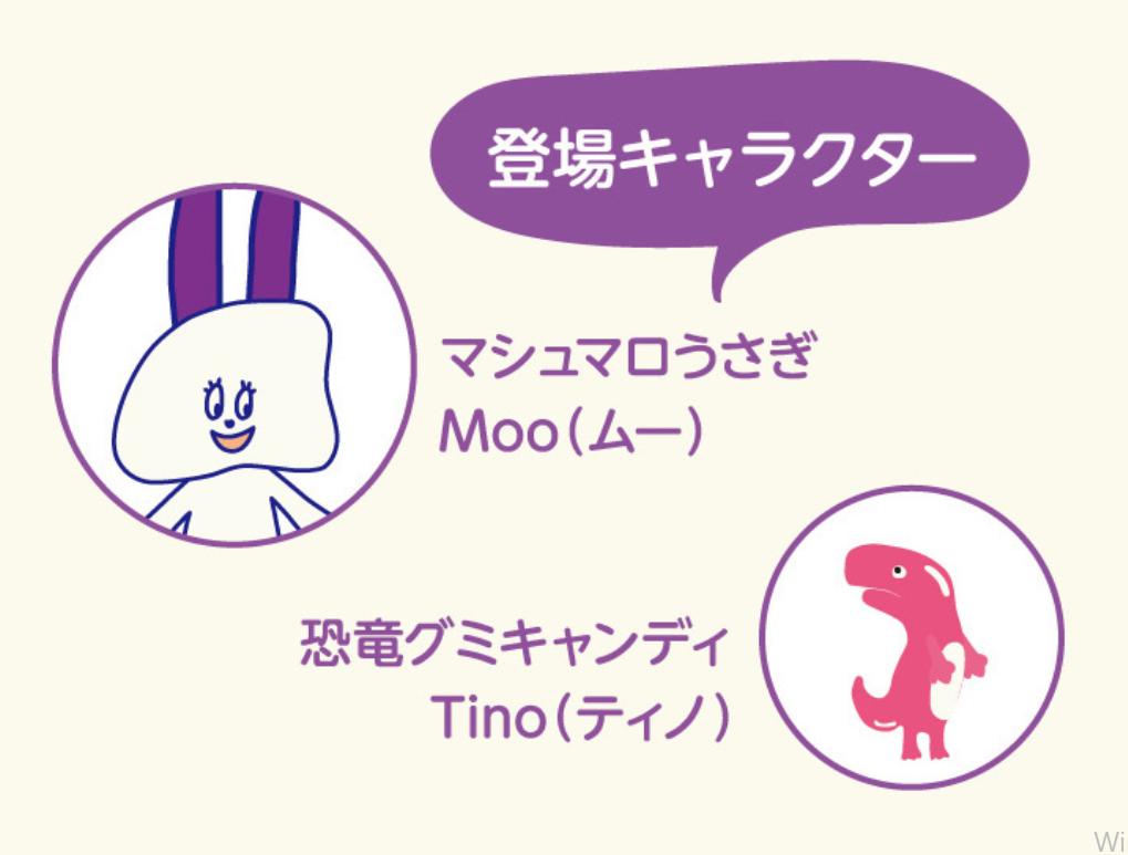 グーミーズ(Goomies)の登場キャラクター