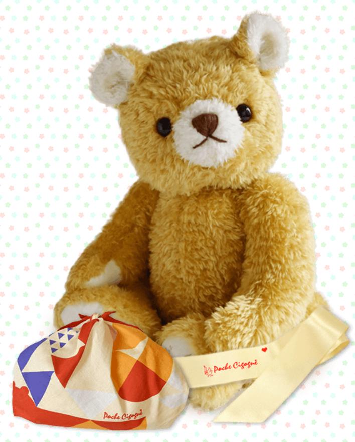 テディベアタイムのウェイトドール・ウェイトベアは1歳の誕生日プレゼントにおすすめ