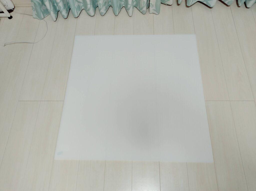DWEシング・アロング絵辞書ポスターの内職に用いるプラダン