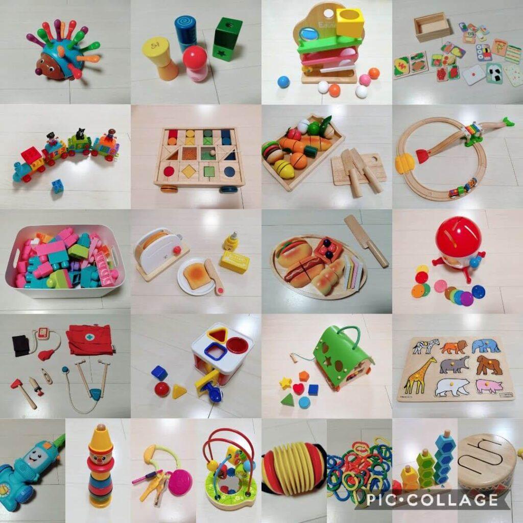 おもちゃの定額制レンタルサービス(おもちゃのサブスク)And TOYBOXで1年間にレンタルしたおもちゃ