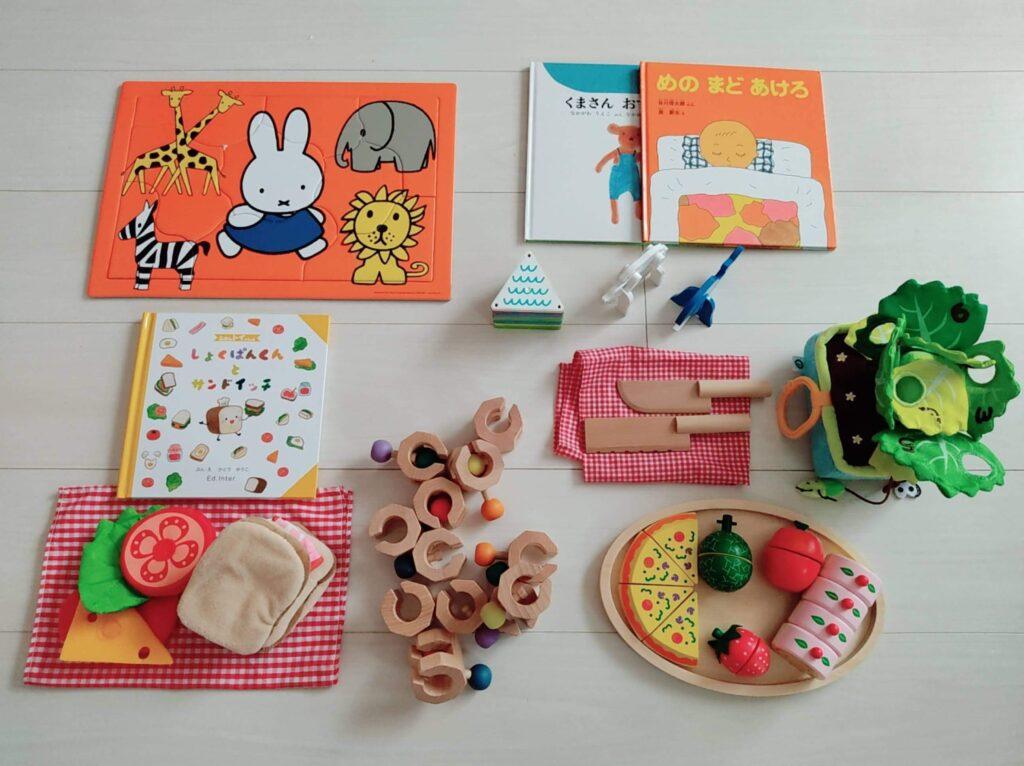 知育玩具と絵本が届く【おもちゃのサブスク】の口コミ